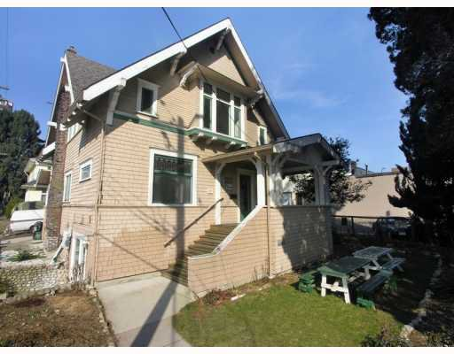 Main Photo: 609 4TH Avenue in New_Westminster: Uptown NW House for sale (New Westminster)  : MLS®# V752752