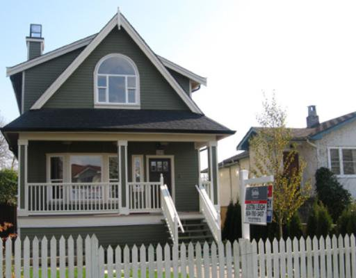 Main Photo: 1262 E 27TH Avenue in Vancouver: Knight House 1/2 Duplex for sale (Vancouver East)  : MLS®# V755472
