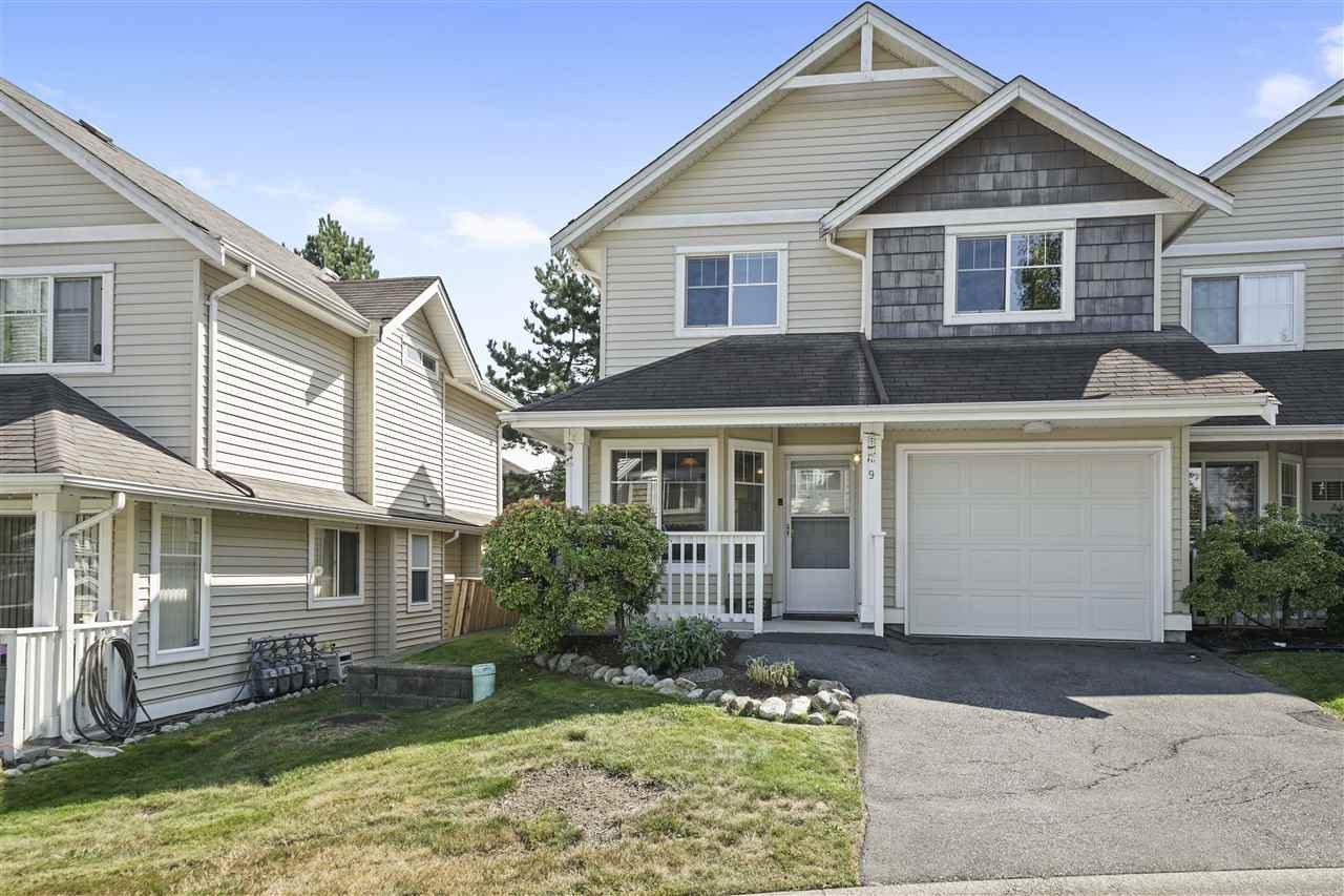 "Main Photo: 9 11255 232 Street in Maple Ridge: Cottonwood MR Townhouse for sale in ""Highfield"" : MLS®# R2402178"
