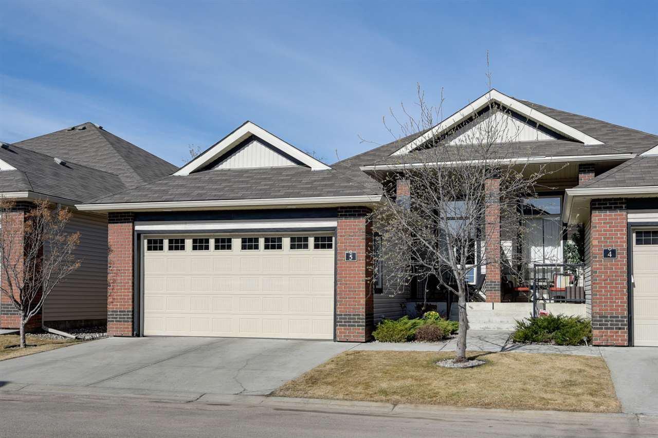 Main Photo: 5 841 156 Street in Edmonton: Zone 14 House Half Duplex for sale : MLS®# E4197475