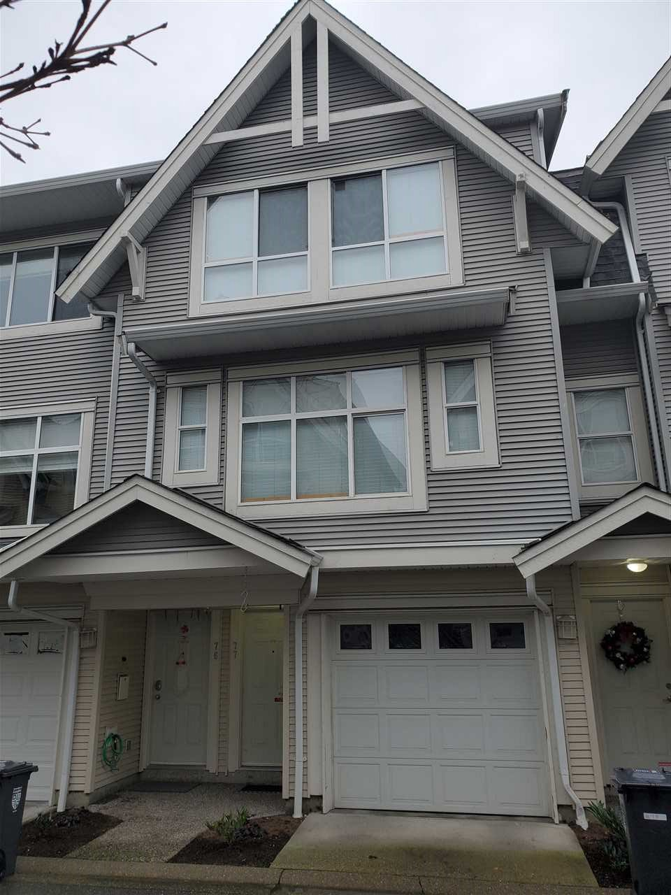 """Main Photo: 77 6450 199TH STREET in Langley: Willoughby Heights Townhouse for sale in """"Logans Landing"""" : MLS®# R2527804"""