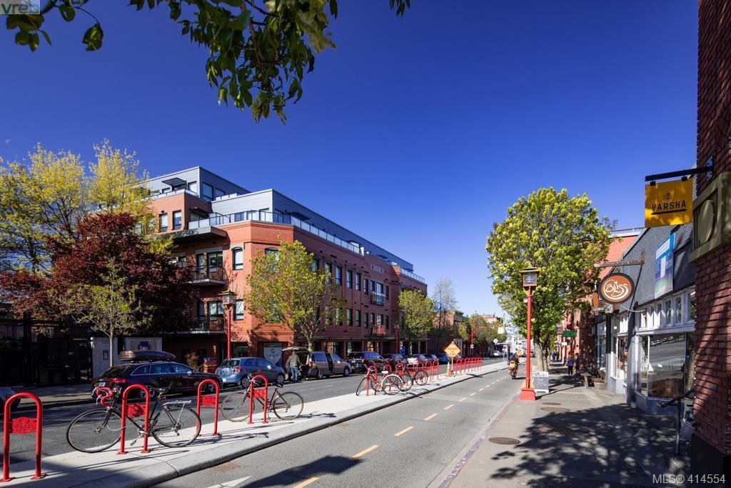 Main Photo: 101 595 Pandora Avenue in VICTORIA: Vi Downtown Condo Apartment for sale (Victoria)  : MLS®# 414554