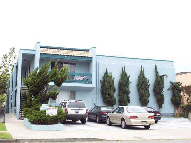 Main Photo: PACIFIC BEACH Home for rent : 2 bedrooms : 962 LORING #2A