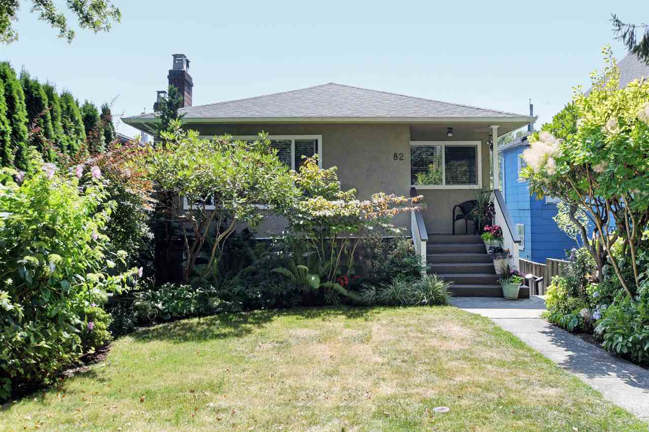 "Main Photo: 82 E 45TH Avenue in Vancouver: Main House for sale in ""MAIN STREET"" (Vancouver East)  : MLS®# R2394942"