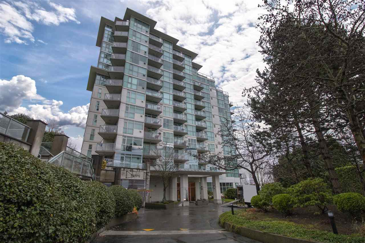 """Main Photo: 1108 2763 CHANDLERY Place in Vancouver: South Marine Condo for sale in """"THE RIVER DANCE"""" (Vancouver East)  : MLS®# R2425024"""