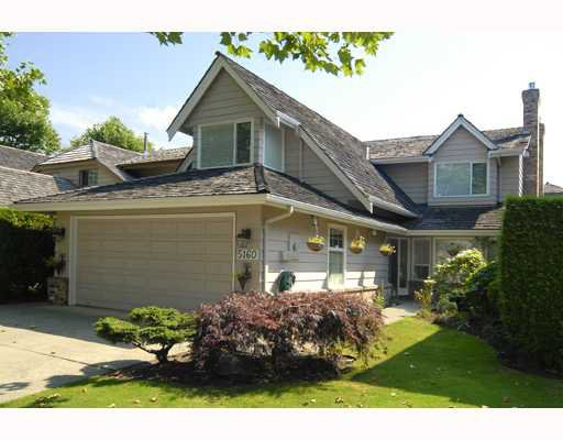 """Main Photo: 5160 HUMMINGBIRD Drive in Richmond: Westwind House for sale in """"WESTWIND"""" : MLS®# V779354"""