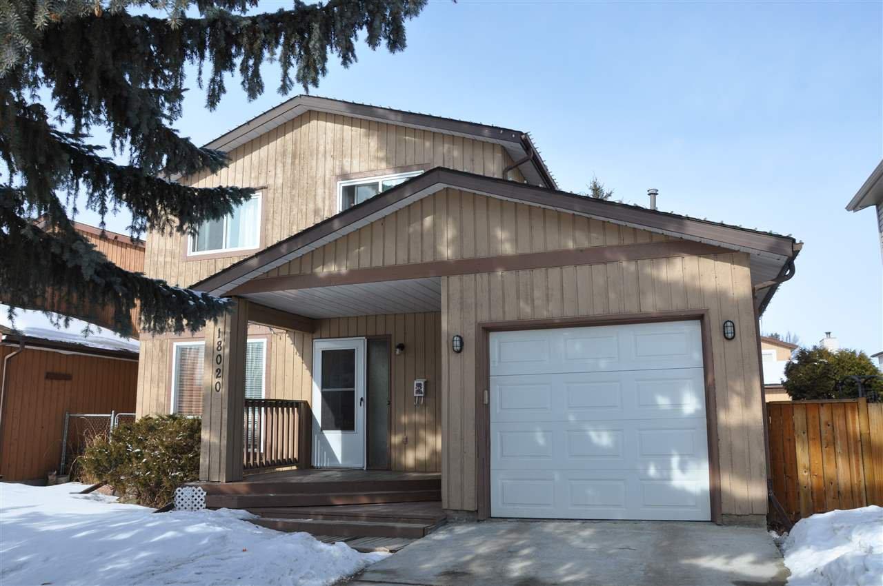Main Photo: 18020 75 Avenue in Edmonton: Zone 20 House for sale : MLS®# E4193763