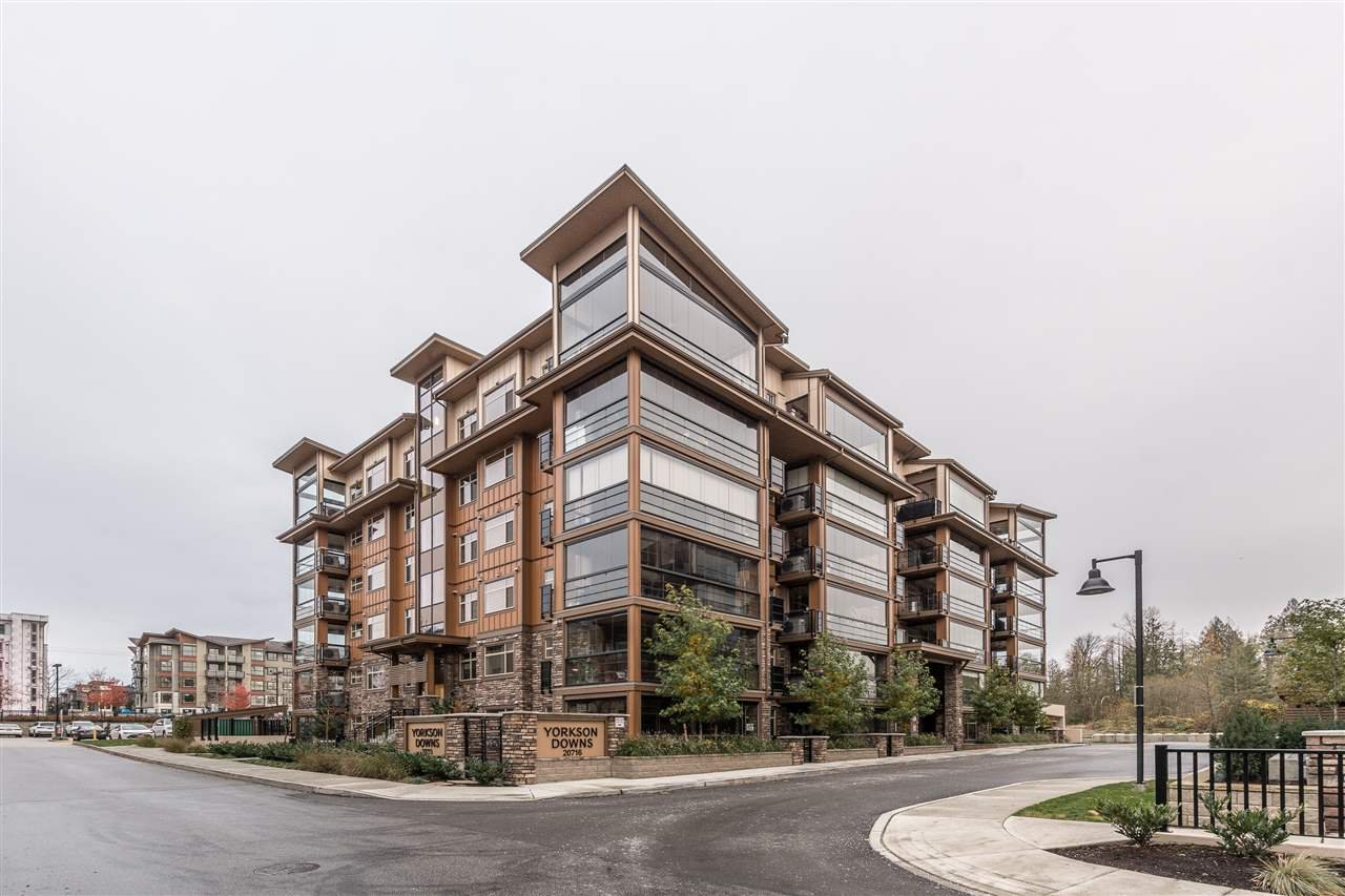 """Main Photo: B628 20716 WILLOUGHBY TOWN Centre in Langley: Willoughby Heights Condo for sale in """"YORKSON DOWNS"""" : MLS®# R2527156"""