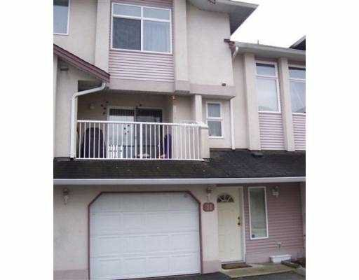 """Main Photo: 2538 PITT RIVER Road in Port Coquitlam: Mary Hill Townhouse for sale in """"RIVER COURT"""" : MLS®# V627942"""