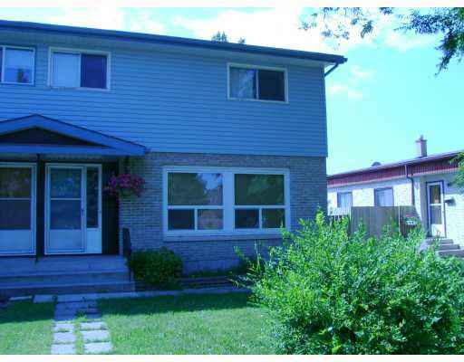 Main Photo: 2844 NESS Avenue in WINNIPEG: St James Single Family Attached for sale (West Winnipeg)  : MLS®# 2713198