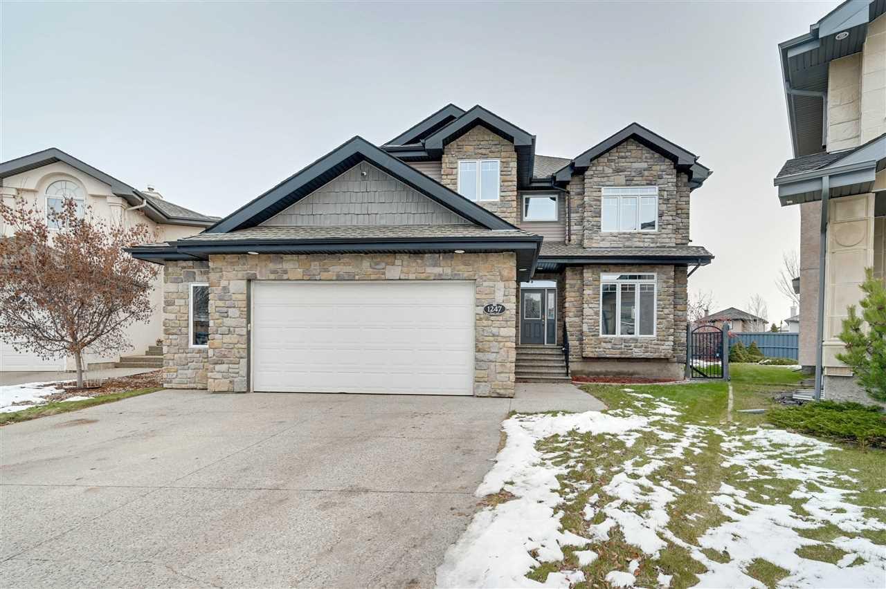 Main Photo: 1247 TREDGER Court in Edmonton: Zone 14 House for sale : MLS®# E4179975
