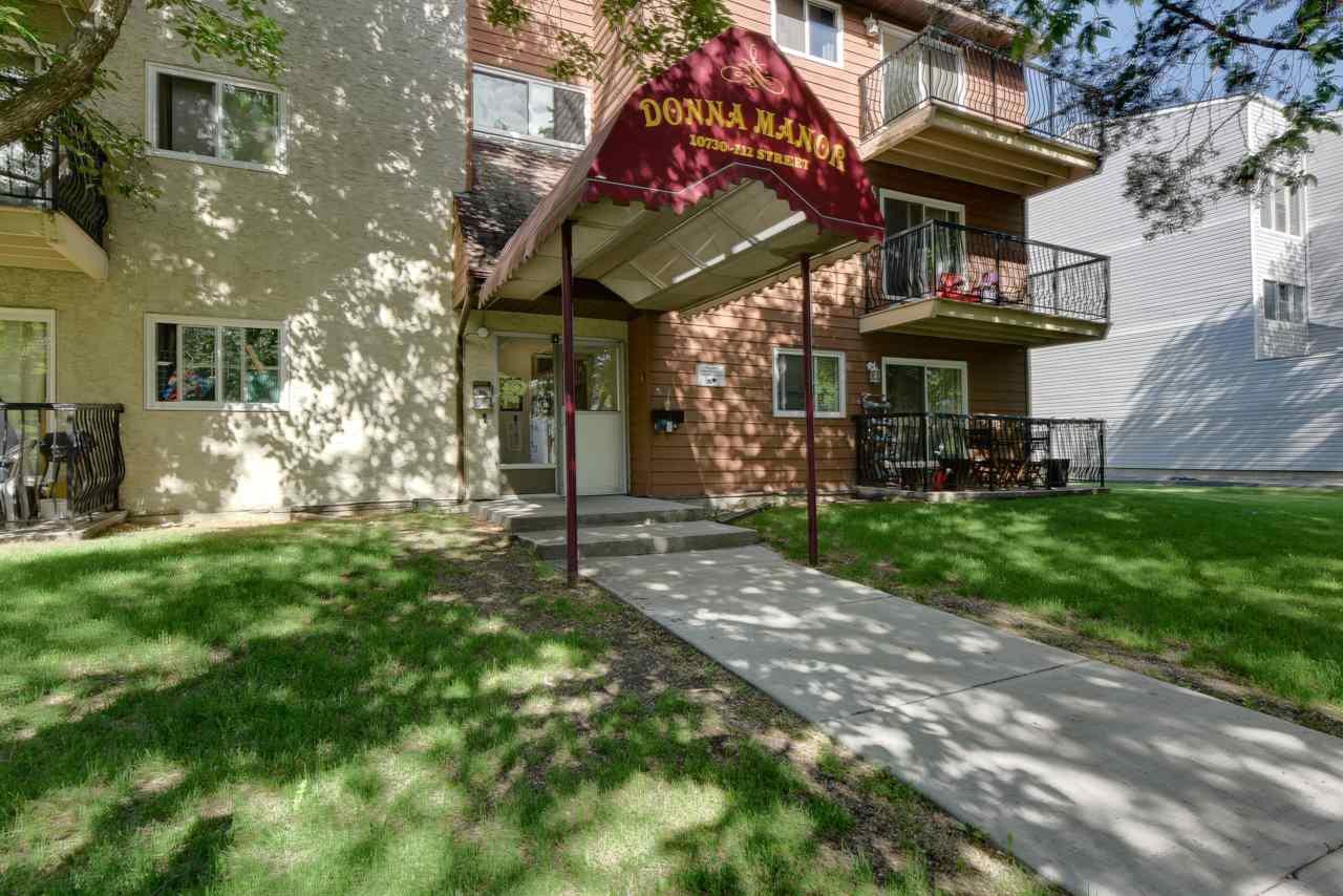 Main Photo: 102 10730 112 Street in Edmonton: Zone 08 Condo for sale : MLS®# E4203245
