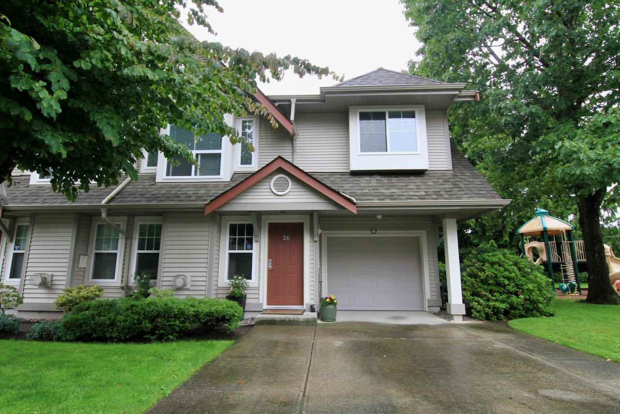 """Main Photo: 26 23085 118 Avenue in Maple Ridge: East Central Townhouse for sale in """"SOMMERVILLE GARDENS"""" : MLS®# R2470060"""