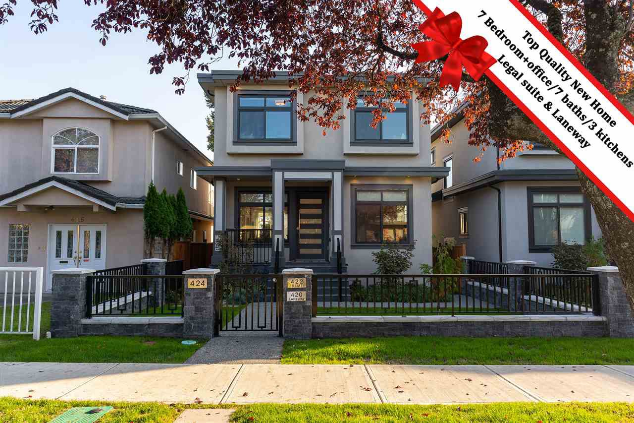 Main Photo: 420 E 56TH Avenue in Vancouver: South Vancouver House for sale (Vancouver East)  : MLS®# R2506725
