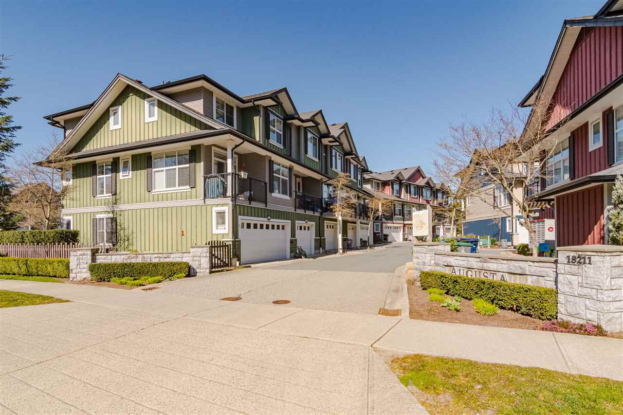 "Main Photo: #4 18211 70 Avenue in Surrey: Cloverdale BC Townhouse for sale in ""Augusta Walk"" (Cloverdale)  : MLS®# R2453483"