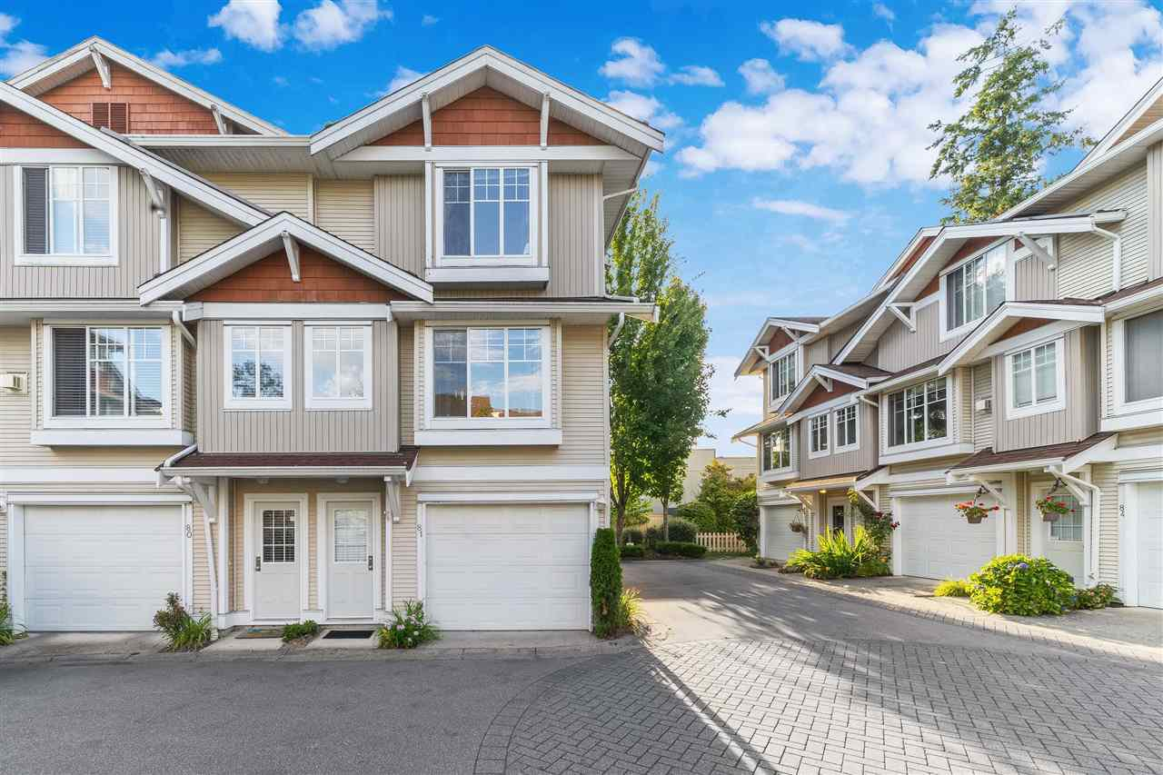 "Main Photo: 81 12110 75A Avenue in Surrey: West Newton Townhouse for sale in ""Mandalay Village"" : MLS®# R2488158"