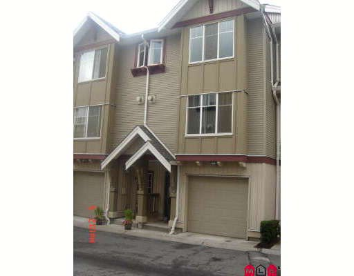 Main Photo: 18 6651 203RD Street in Langley: Willoughby Heights Townhouse for sale : MLS®# F2820496