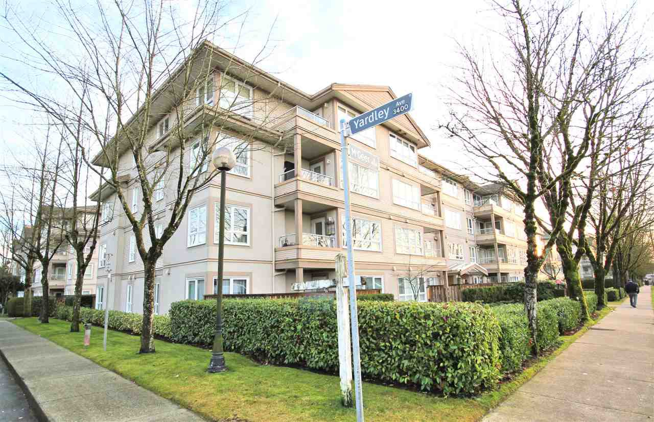 """Main Photo: 307 3480 YARDLEY Avenue in Vancouver: Collingwood VE Condo for sale in """"THE AVALON"""" (Vancouver East)  : MLS®# R2425483"""