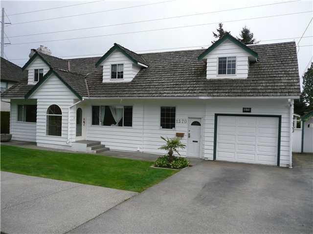"Main Photo: 1570 53A Street in Tsawwassen: Cliff Drive House for sale in ""TSAWWASSEN HEIGHTS"" : MLS®# V867337"