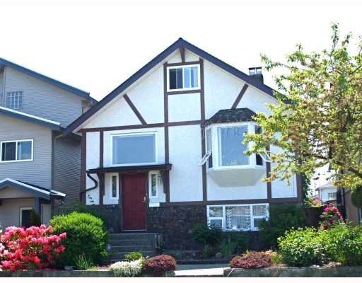 Main Photo: 3318 NAPIER Street in Vancouver: Renfrew VE House for sale (Vancouver East)  : MLS®# V768364