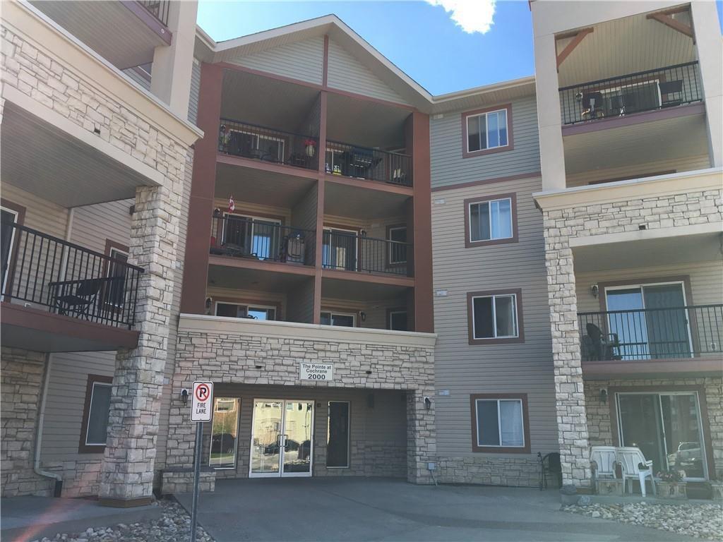 Main Photo: 2214 505 RAILWAY Street W: Cochrane Apartment for sale : MLS®# C4258655