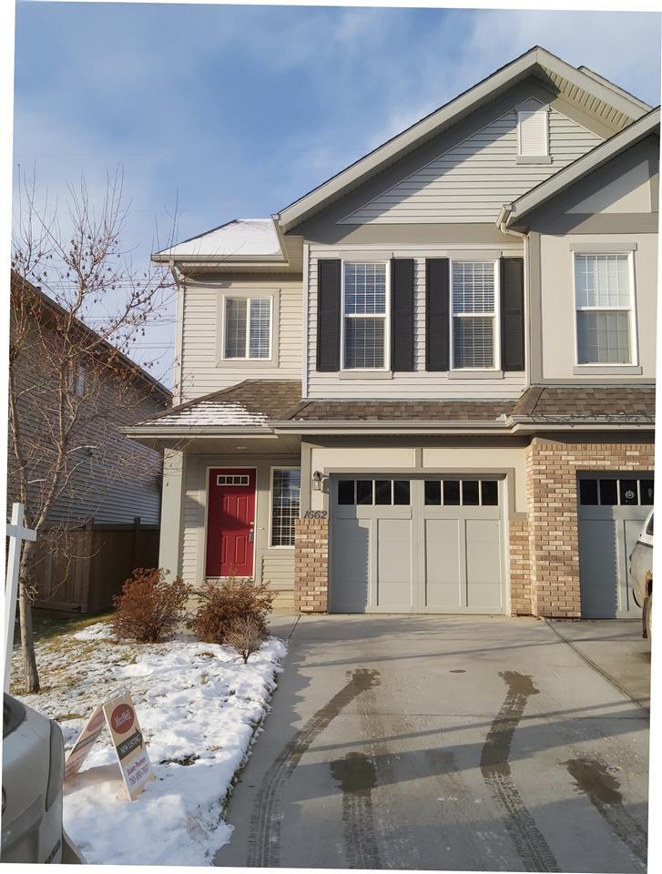Main Photo: 1662 CHAPMAN Way in Edmonton: Zone 55 House Half Duplex for sale : MLS®# E4181460