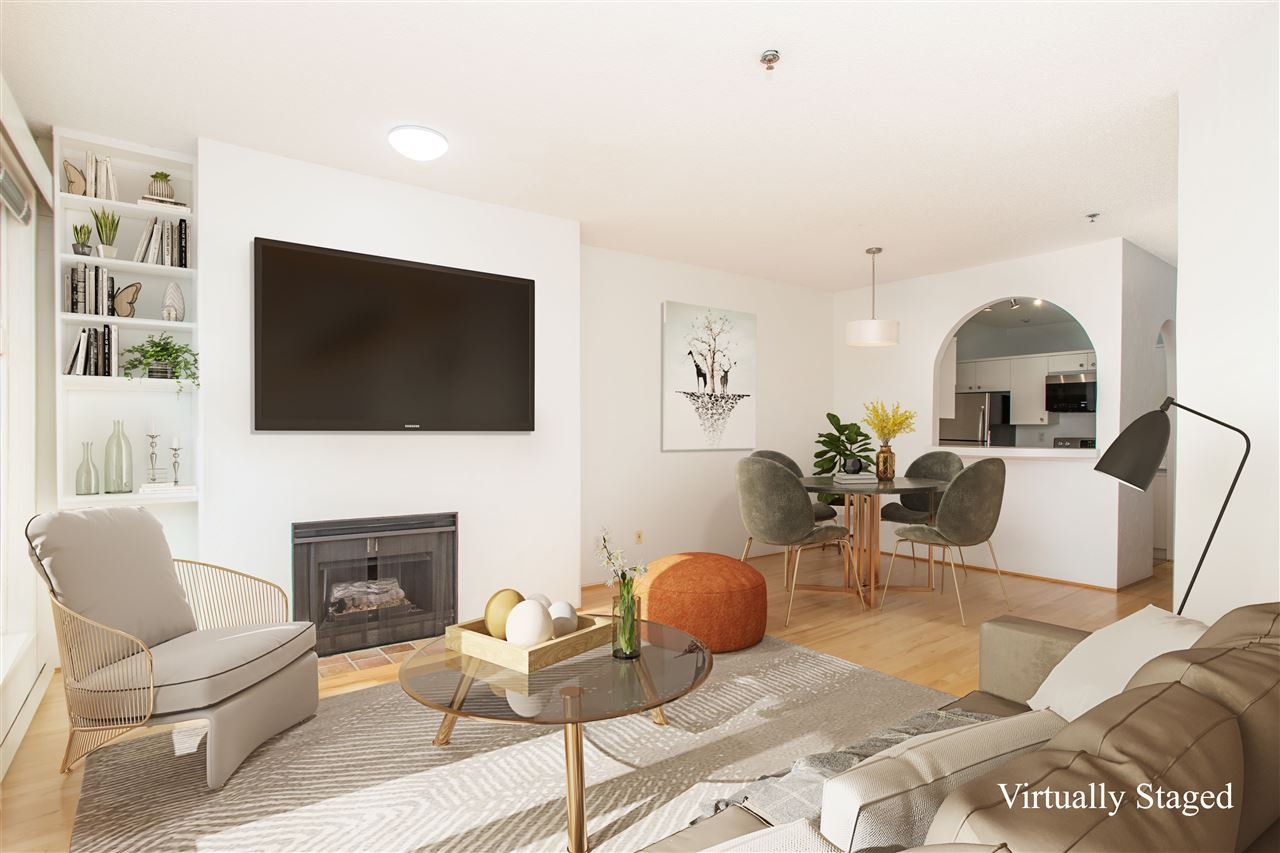 """Main Photo: 201 1924 COMOX Street in Vancouver: West End VW Condo for sale in """"WINDGATE ON THE PARK"""" (Vancouver West)  : MLS®# R2513108"""