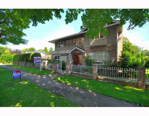 Main Photo: 1019 NANTON Avenue in Vancouver: Shaughnessy House for sale (Vancouver West)  : MLS®# V777065