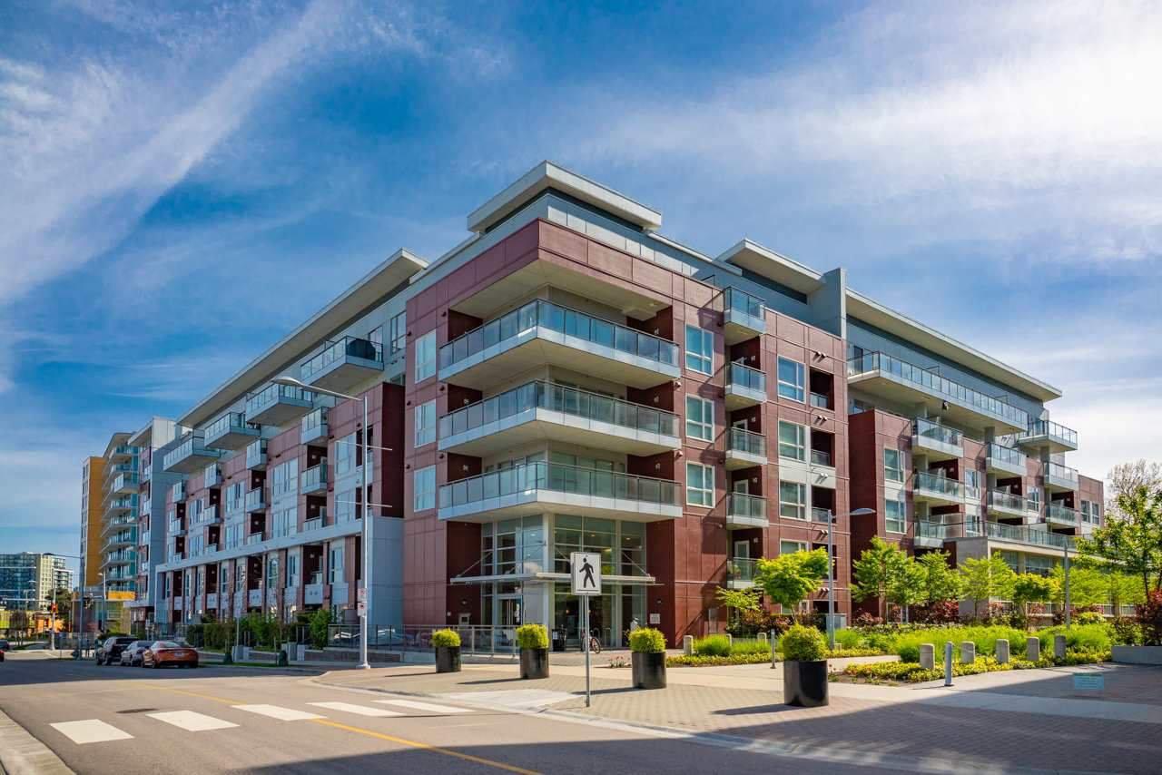 "Main Photo: 605 5399 CEDARBRIDGE Way in Richmond: Brighouse Condo for sale in ""Riva By Onni"" : MLS®# R2427357"