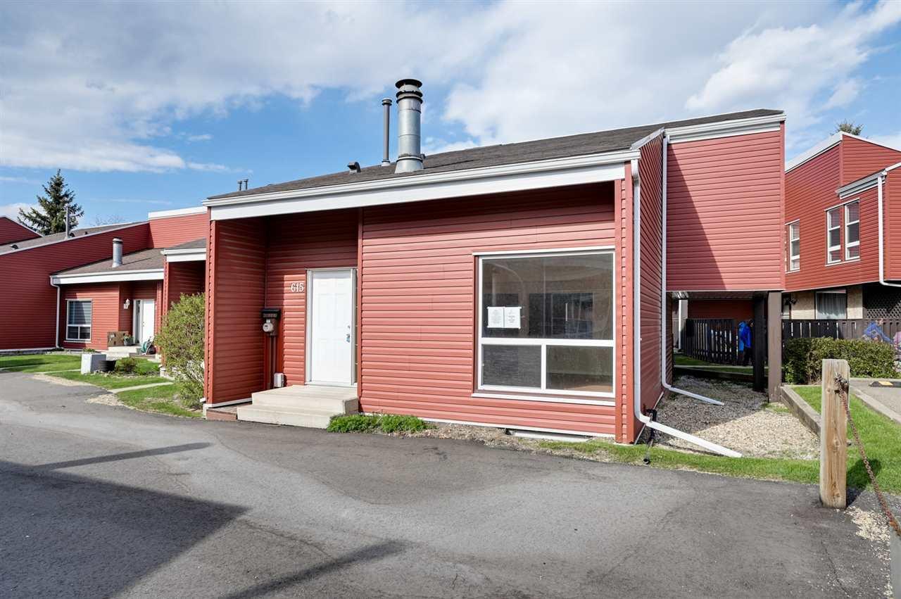 Main Photo: 615 MILLBOURNE Road E in Edmonton: Zone 29 Townhouse for sale : MLS®# E4197493