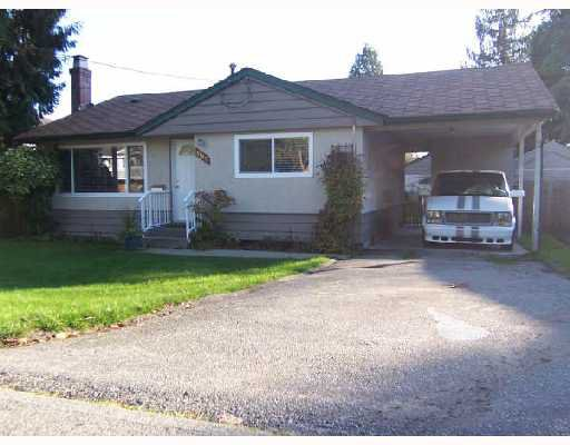 Main Photo: 1182 PRAIRIE Avenue in Port_Coquitlam: Birchland Manor House for sale (Port Coquitlam)  : MLS®# V744129