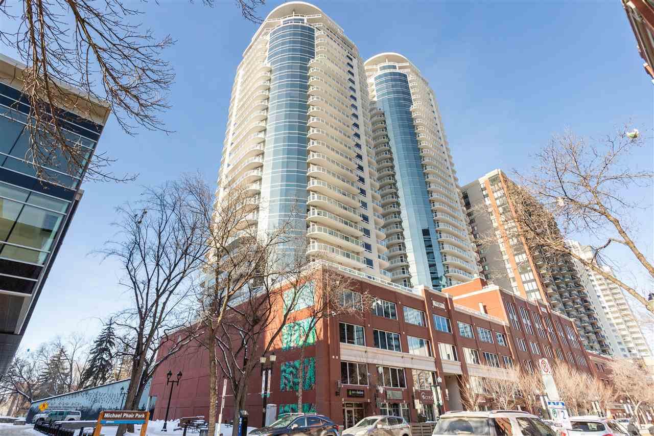 Main Photo: 803 10152 104 Street in Edmonton: Zone 12 Condo for sale : MLS®# E4195423