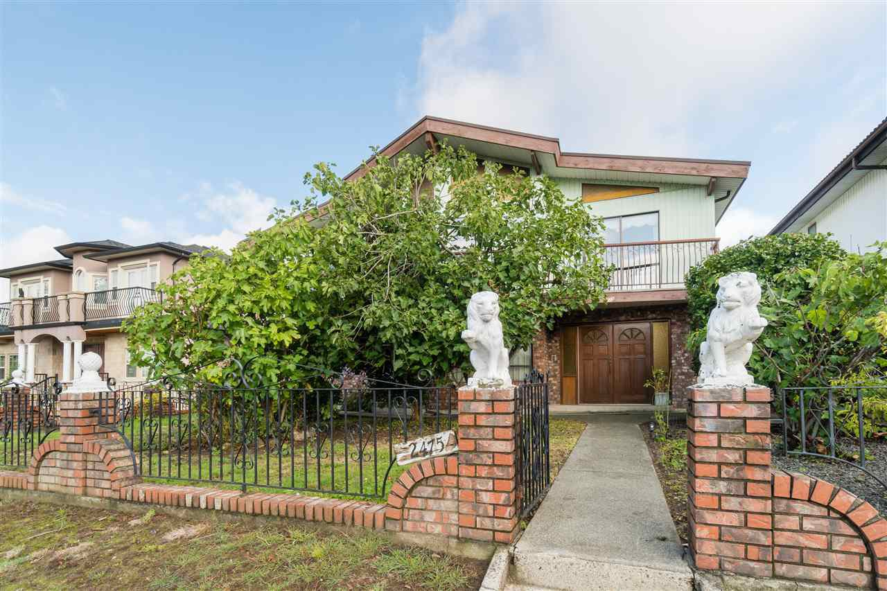 Main Photo: 2475 E 4 Avenue in Vancouver: House for sale (Vancouver East)  : MLS®# R2437732
