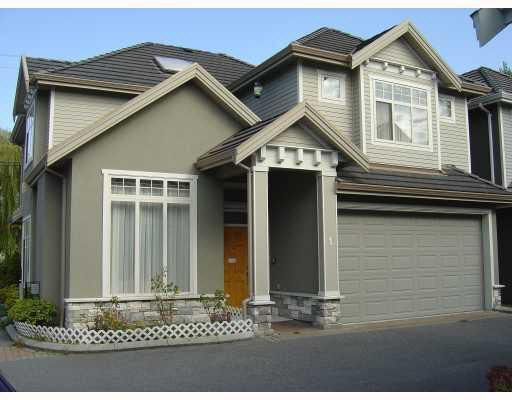 Main Photo: 1 7188 BLUNDELL ROAD in Richmond: Broadmoor Townhouse for sale ()  : MLS®# V785087