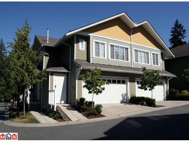 """Main Photo: 20 6110 138TH Street in Surrey: Sullivan Station Townhouse for sale in """"Seneca Woods"""" : MLS®# F1019158"""