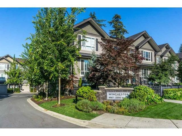 "Main Photo: 40 4967 220 Street in Langley: Murrayville Townhouse for sale in ""Winchester"" : MLS®# R2393390"