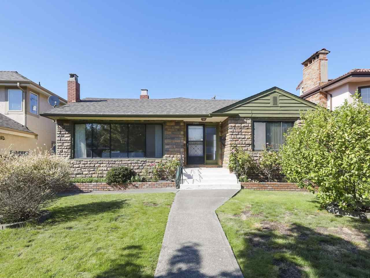 Main Photo: 2815 E 3RD Avenue in Vancouver: Renfrew VE House for sale (Vancouver East)  : MLS®# R2487598