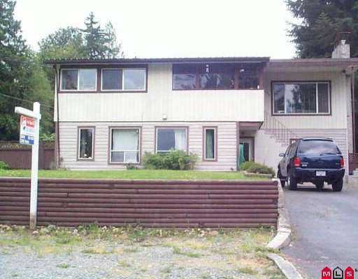 "Main Photo: 11380 LANSDOWNE DR in Surrey: Bolivar Heights House for sale in ""BIRDLAND"" (North Surrey)  : MLS®# F2514679"
