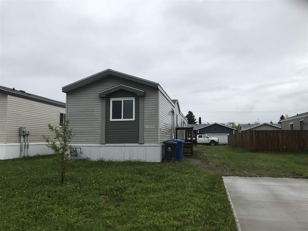 Main Photo: 8603 79A Street in Fort St. John: Fort St. John - City SE Manufactured Home for sale (Fort St. John (Zone 60))  : MLS®# R2463419