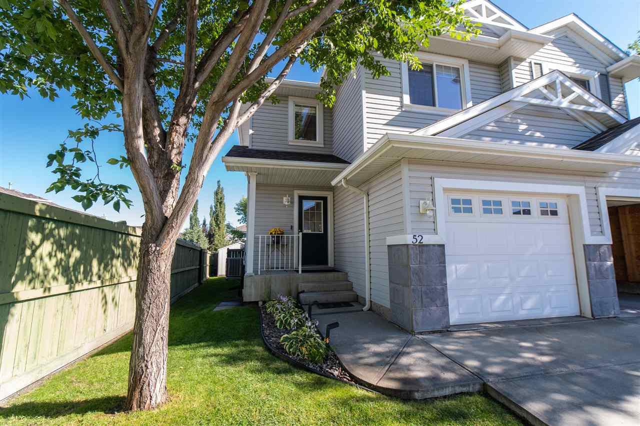 Main Photo: 52 115 CHESTERMERE Drive: Sherwood Park House Half Duplex for sale : MLS®# E4208019