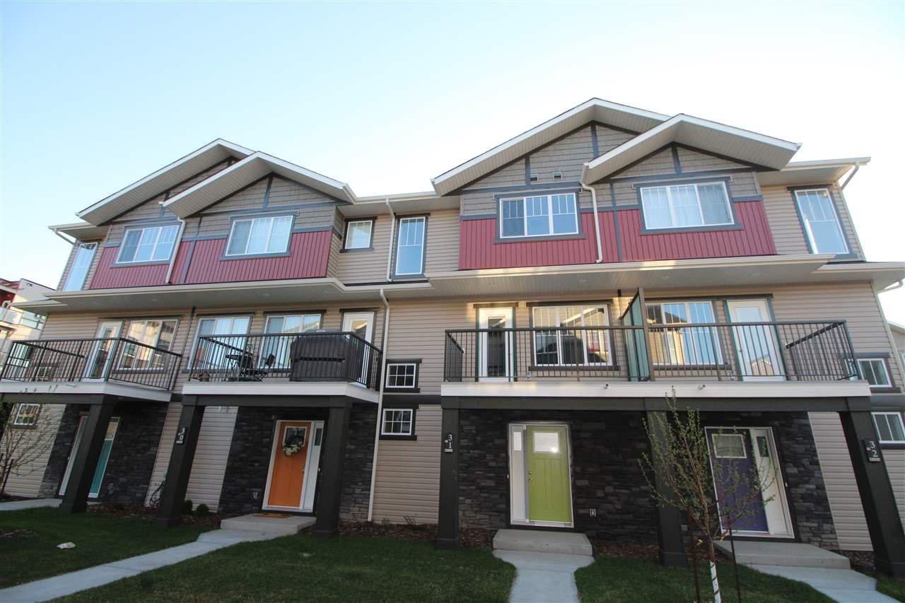 Main Photo: 17 17832 78 Street in Edmonton: Zone 28 Townhouse for sale : MLS®# E4174204