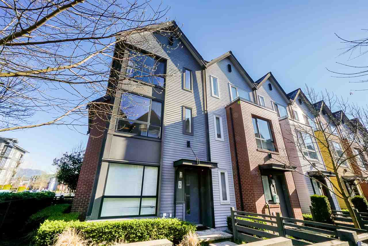 Main Photo: 38 2332 RANGER LANE in Port Coquitlam: Riverwood Townhouse for sale : MLS®# R2443597