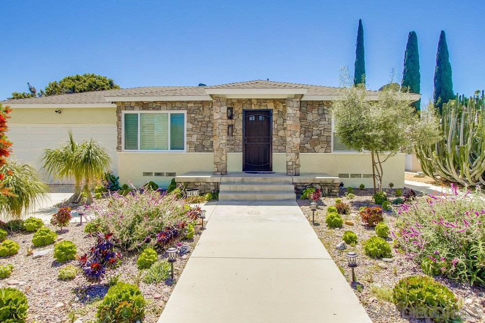 Main Photo: LA MESA House for sale : 3 bedrooms : 7191 Purdue Ave