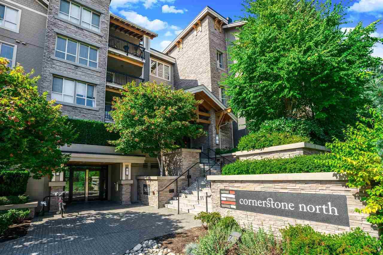 "Main Photo: 418 5655 210A Street in Langley: Salmon River Condo for sale in ""CORNERSTONE NORTH"" : MLS®# R2498695"