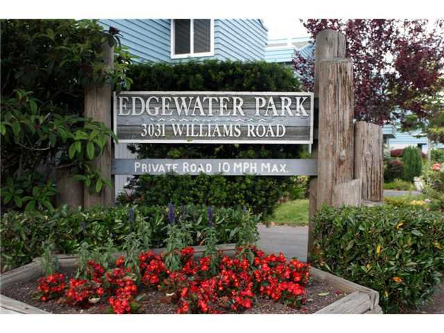"Main Photo: 132 3031 WILLIAMS Road in Richmond: Seafair Townhouse for sale in ""EDGEWATER PARK"" : MLS®# V839487"