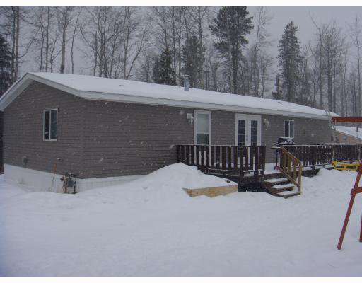 Main Photo: 14488 RED CREEK Road in Fort_St._John: Fort St. John - Rural W 100th Manufactured Home for sale (Fort St. John (Zone 60))  : MLS®# N190045
