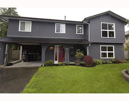 Main Photo: 850 PINEMONT Avenue in Port_Coquitlam: Lincoln Park PQ House for sale (Port Coquitlam)  : MLS®# V767756