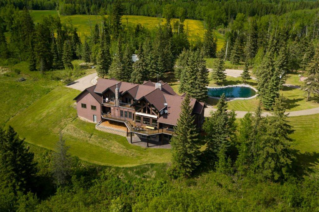 Main Photo: 380040 N Range Road 6-5 in Rural Clearwater County: NONE Residential for sale : MLS®# A1004448