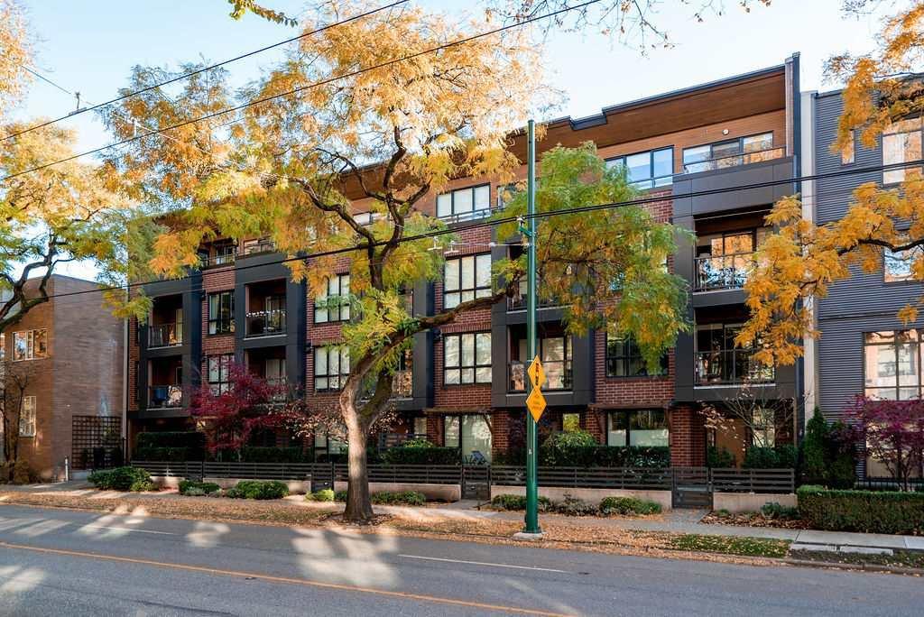 Main Photo: 408 2020 W 12TH AVENUE in Vancouver: Kitsilano Condo for sale (Vancouver West)  : MLS®# R2416514