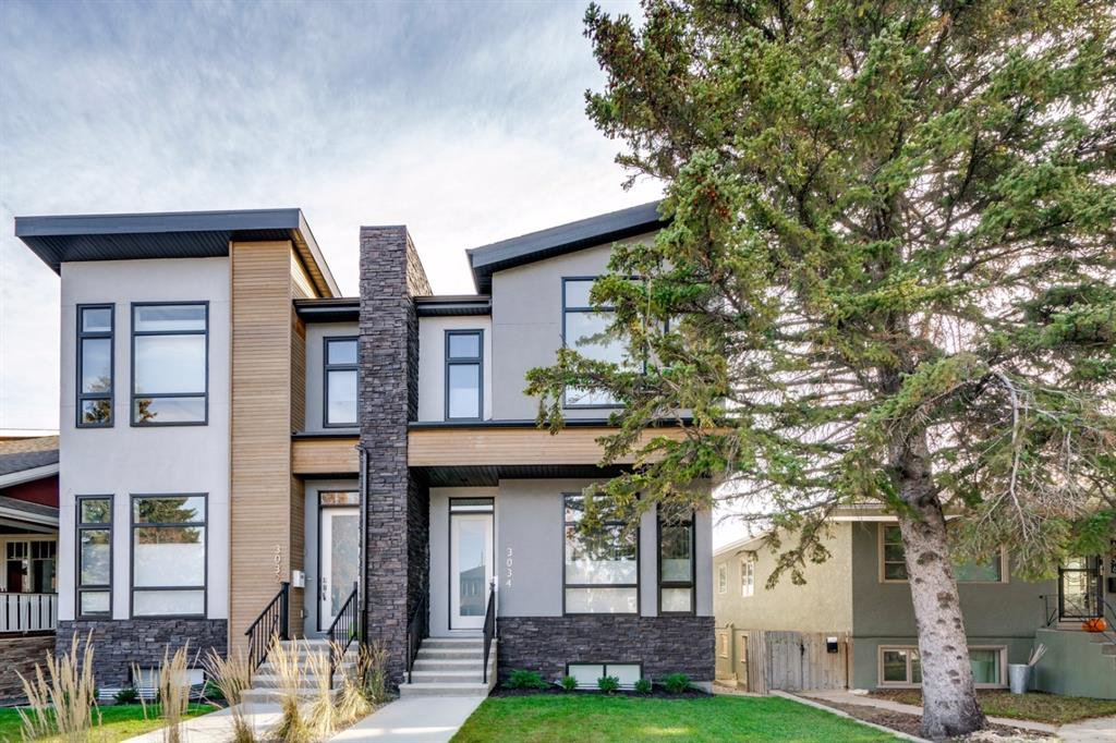 Main Photo: 3034 34 Street SW in Calgary: Killarney/Glengarry Semi Detached for sale : MLS®# A1056545